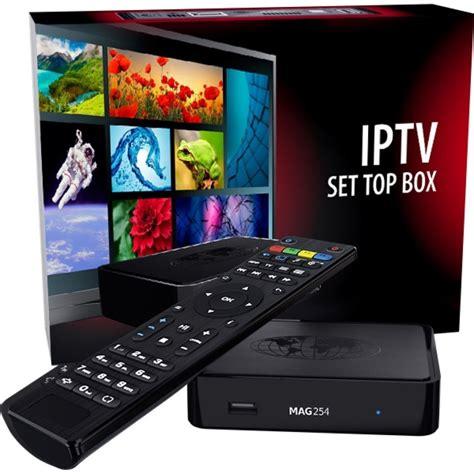 best iptv mag 254 box the iptv tv in hd
