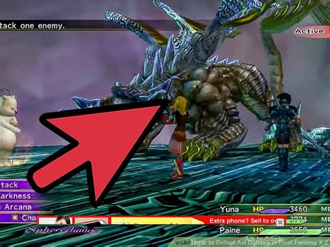 light curtain ffx how to defeat azi dahaka in final fantasy x 2 7 steps