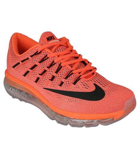 Nike Sport Running nike airmax 2016 orange running sports shoes buy nike