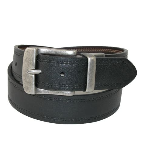 Belt Levis 6 mens big leather reversible belt with row stitch by levis big belts