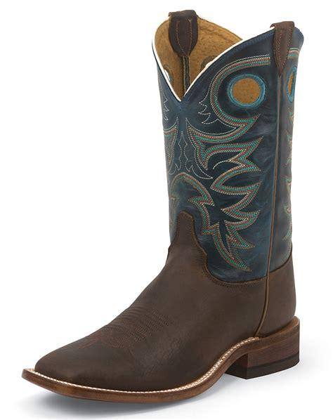 justin shoes justin s bent rail 11 quot boots topaz copper
