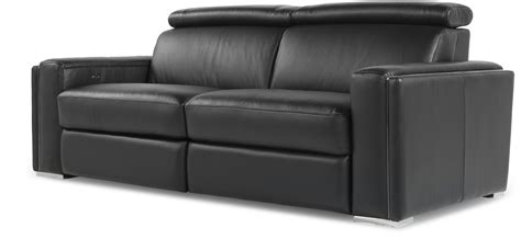Best Reclining Leather Sofa by Ellie Black Top Grain Leather Reclining Sofa 53137b1184