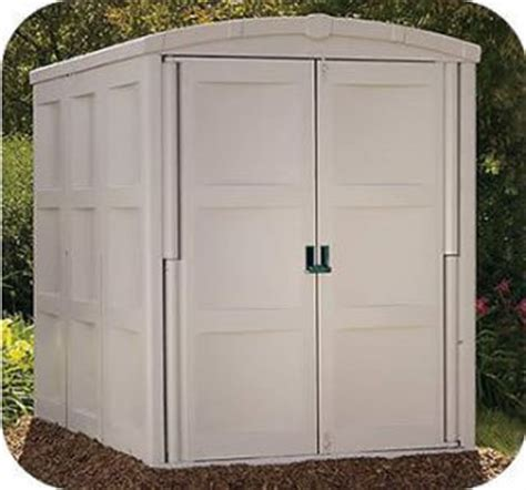 suncast gs8000 outdoor storage shed large h 6 ft 11 in