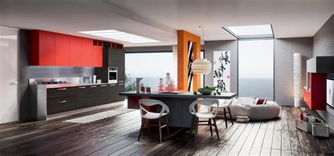 cucine e soggiorni moderni cucina salotto open space 59 images arredo soggiorno