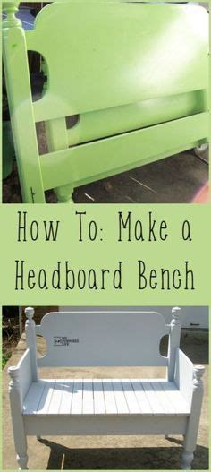how to make a bench from a headboard turn a bed headboard into a bench awesome upcycle ideas