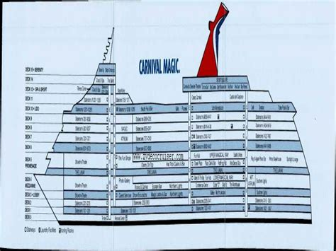 carnival cruise floor plan carnival magic ocean suite carnival magic cabins deck plan