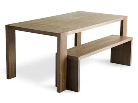 bench dining tables 10 easy pieces modern dining tables and benches