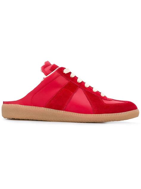 backless sneakers for lyst maison margiela backless slip on sneakers in