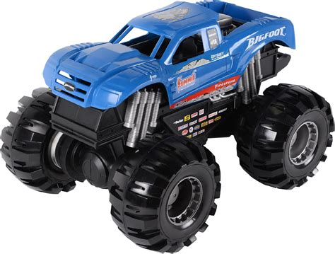 bigfoot monster truck toys road rippers 17 quot monster truck big foot blue