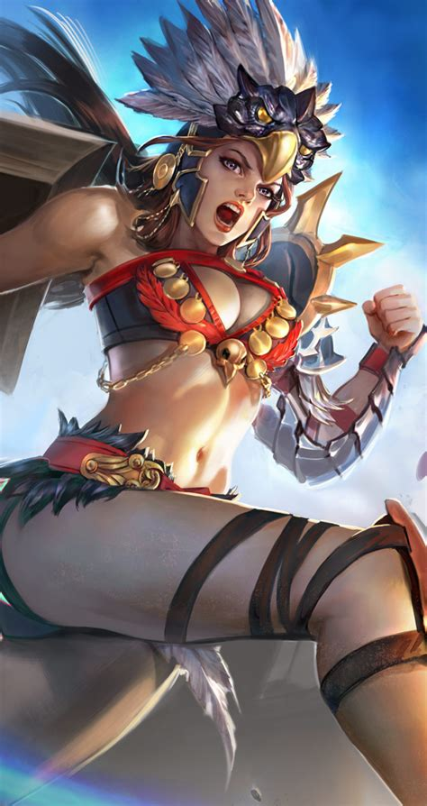 wallpaper android vainglory introducing the epic gladiator catherine skin vainglory