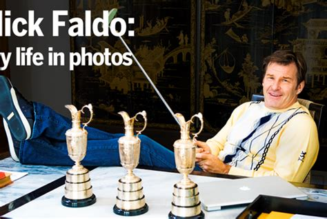 nick faldo swing for life nick faldo my life in photos today s golfer