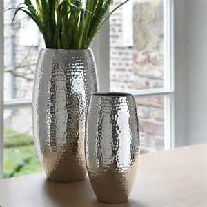 silberne vasen fink bodenvase africa versilbert i fink shop vasen
