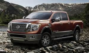 Nissan Titan Diesel Truck All New 2016 Nissan Titan Xd Powers Up With V8