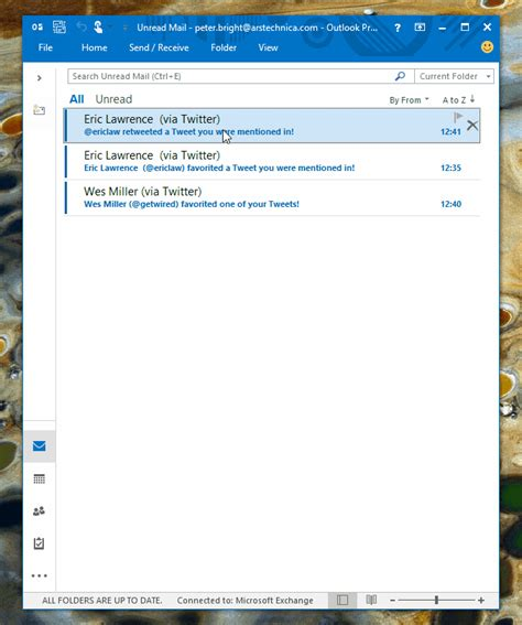 Outlook Word Look At The Office 2016 Preview For Windows Ars