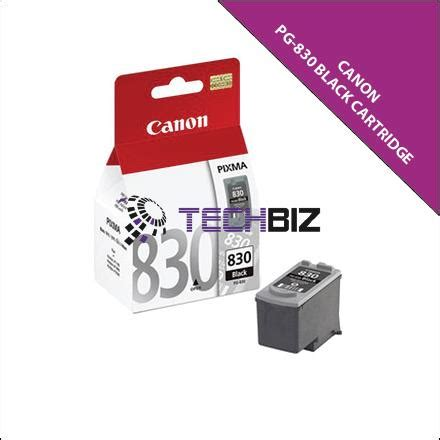Canon 830 Ink Cartridge pg 830 black canon ink cartr end 11 15 2017 3 15 pm