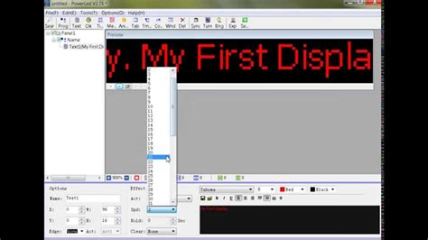 tutorial video making software powerled v2 7 software tutorial youtube