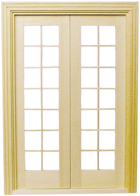 printable house windows dollhouse 1 2in classic french door