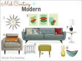 Midcentury modern decor ideas mid century decorating decorating