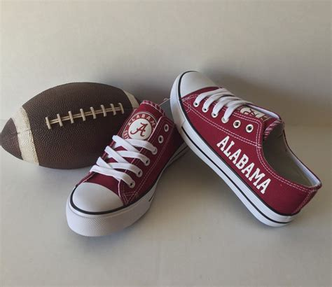 alabama sneakers alabama crimson tide s athletic shoes by sportzunlimited