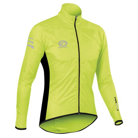 mens hi vis cycling jacket optimum mens nitebrite hi vis rain jacket running cycling