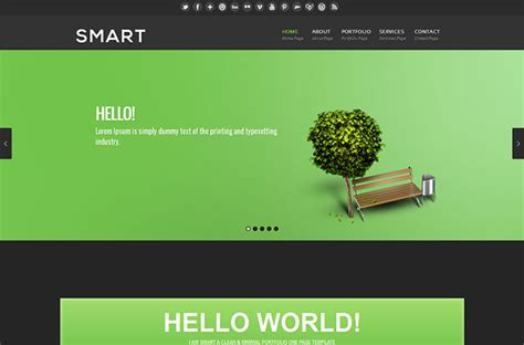 60 Best Single Page Website Templates Web Graphic Design Bashooka Simple Single Page Website Template