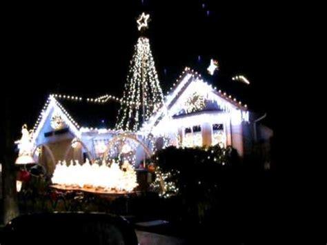 house with christmas lights set to music christmas lights set to music youtube