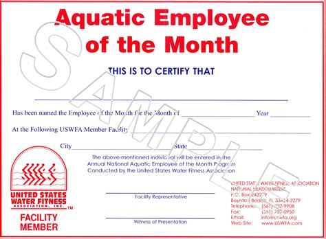 best employee award template impressive certificate award template of aquatic employee