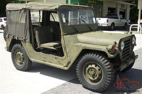 M151a2 Jeep For Sale 1972 Jeep M151a2 Ford Mutt Excellent Condition