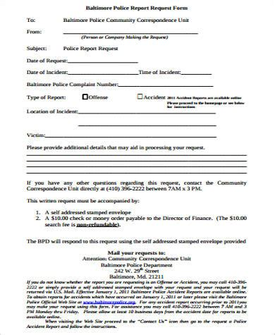 report request form template sle report request form 8 exles in word pdf