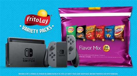 Frito Lay Game Giveaway Codes - frito lay giving away one nintendo switch every hour nintendo times
