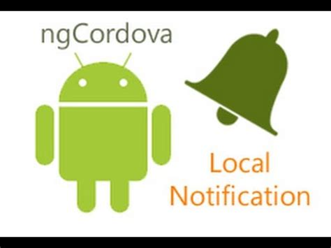 ionic ngcordova tutorial ngcordova local notification tutorial youtube