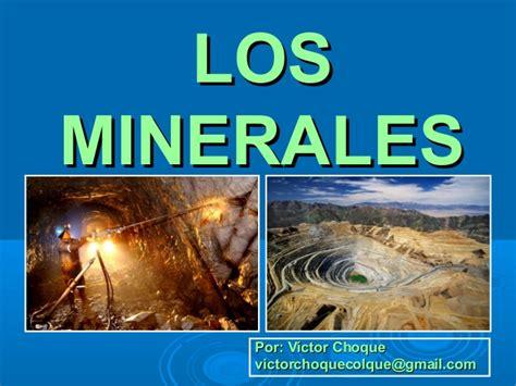 imagenes de minerales naturales tema 5 recursos minerales mundiales 2013
