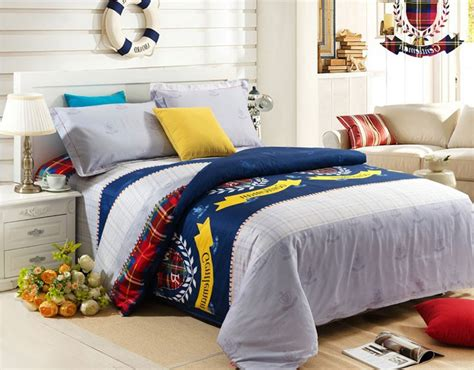preppy bedding sets 4 luxury cootton bedding sets preppy style