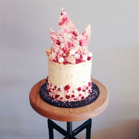 Chocolate Shard Cake Decorations by Katherine Sabbath Cakes Pastel And Cakes