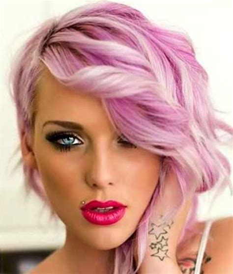 haircuts for colored pink hair 35 new hair color for short hair short hairstyles