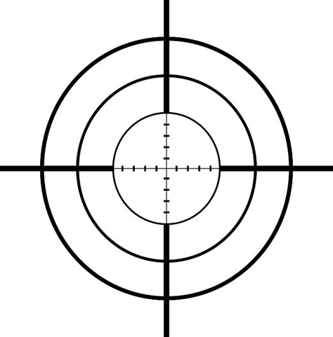 printable crosshair targets free pictures cross hairs 4 images found