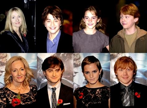 all about cast interesting facts harry potter then and now