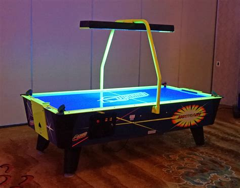 official air hockey table air hockey tables full view electronic scorer top view