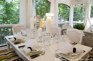 Beautiful Table Settings Candlelit Summer Tablescape Table Setting