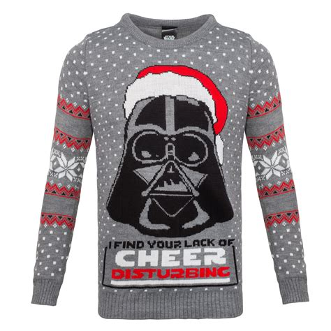 wars sweater wars lack of cheer disturbing unisex knitted