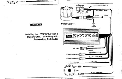 mallory unilite wiring diagram wiring diagram and