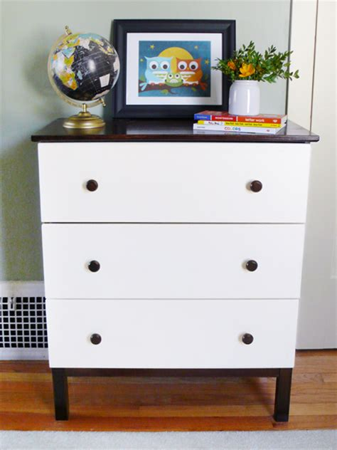 diy dresser a diy ikea tarva dresser for our modern kid rather square