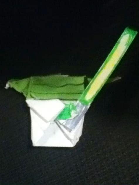Origami Cover Yoda - superfolder maxs legit cover yoda origami yoda