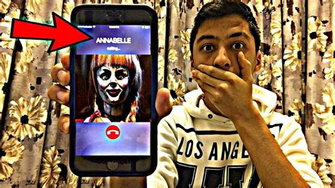annabelle doll killer calling annabelle doll omg she actually answered