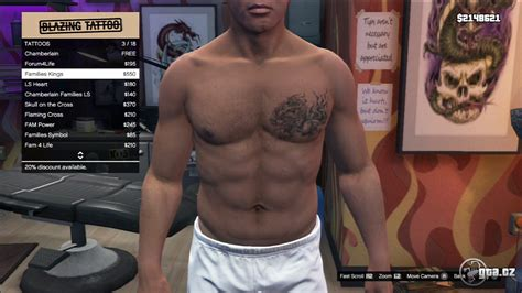 gta online tattoo angel tattoo franklin gta v grand theft auto 5 on gta cz