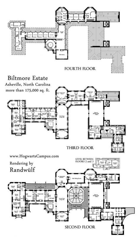 biltmore house floor plan biltmore estate mansion floor plan upper 3 floors we