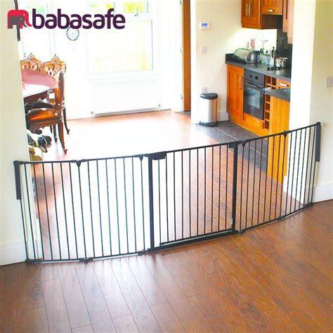 room gates 5 panel wide baby gate rom divider babasafe co uk