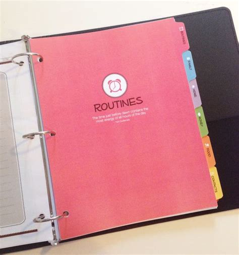 the life notebook 55 planner binder plus a disc with the life notebook by kellybangscreative on etsy