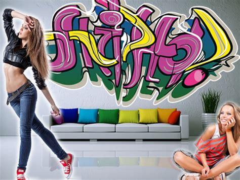 graffiti für zuhause k 252 che rot glanz