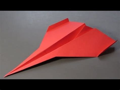 Origami Planes That Fly Far - how to make a paper airplane tutorial the blackbird